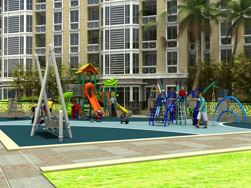 dream garden themed playground equipment trade company