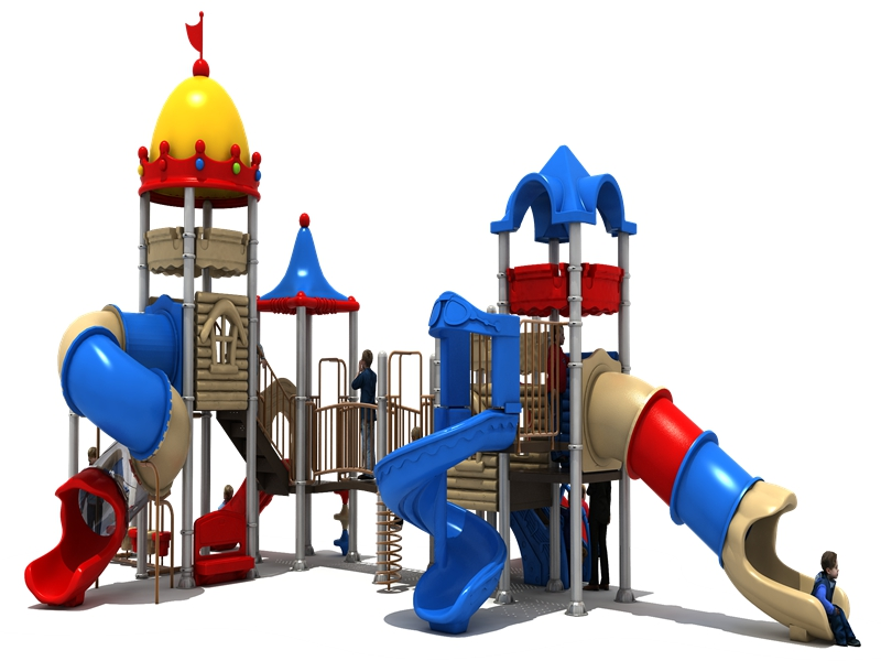 Hot New Products Kindergarten Kids Slide Outdoor Playground