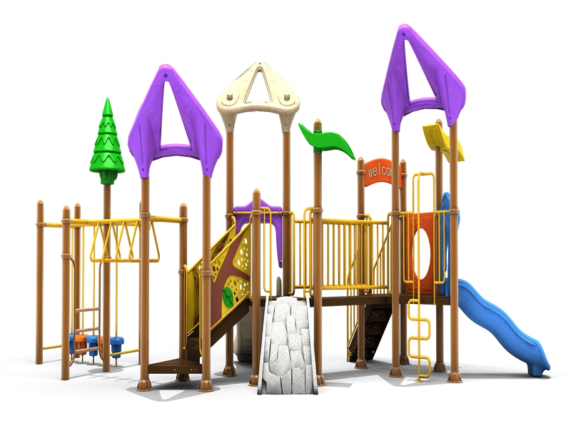 Kindergarten Children Outdoor Playground Equipment with High-quality