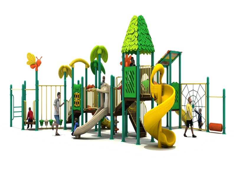 dream garden large plastic tube slides trade company