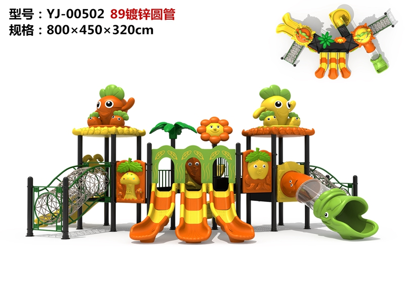 High Material Quality outdoor playground Forest Theme
