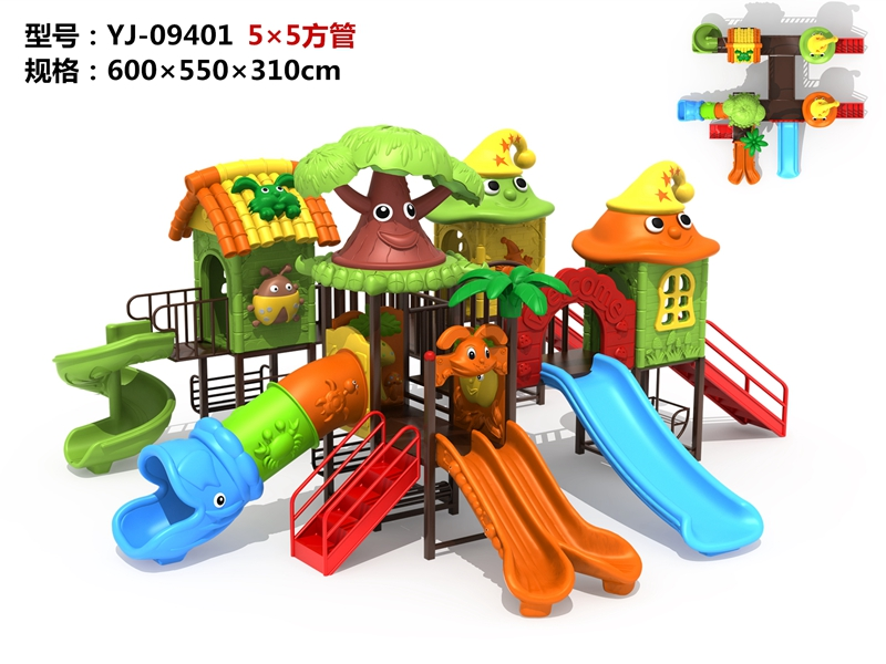 dream garden playcore factory
