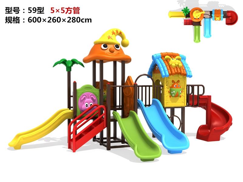 dream garden inclusive playground made in china
