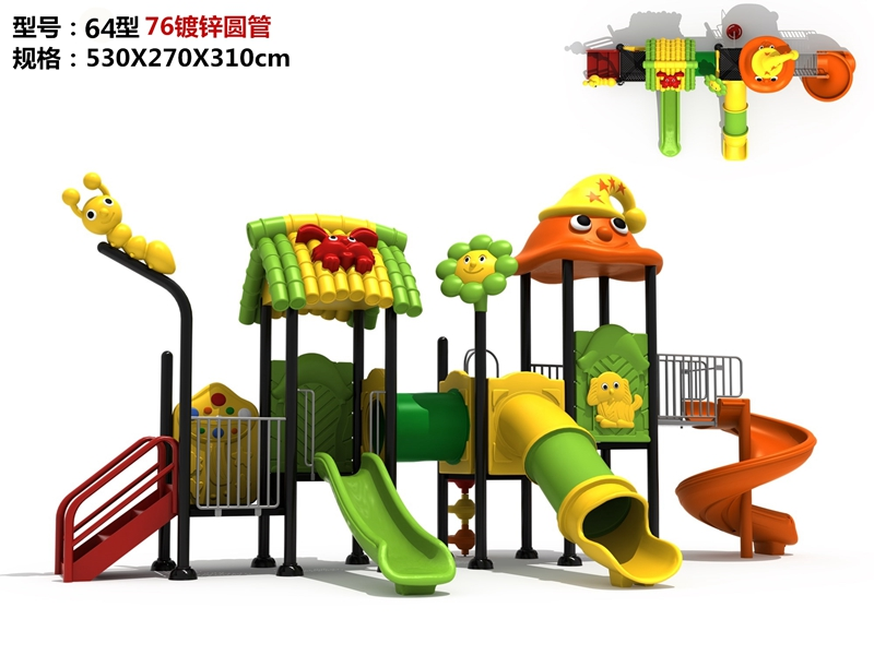 dream garden playgrounds for sale made in china
