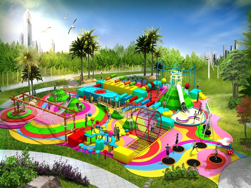 dream garden elementary school playground manufacturer