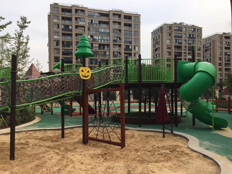 outdoor tunnel amusement playground park for kids