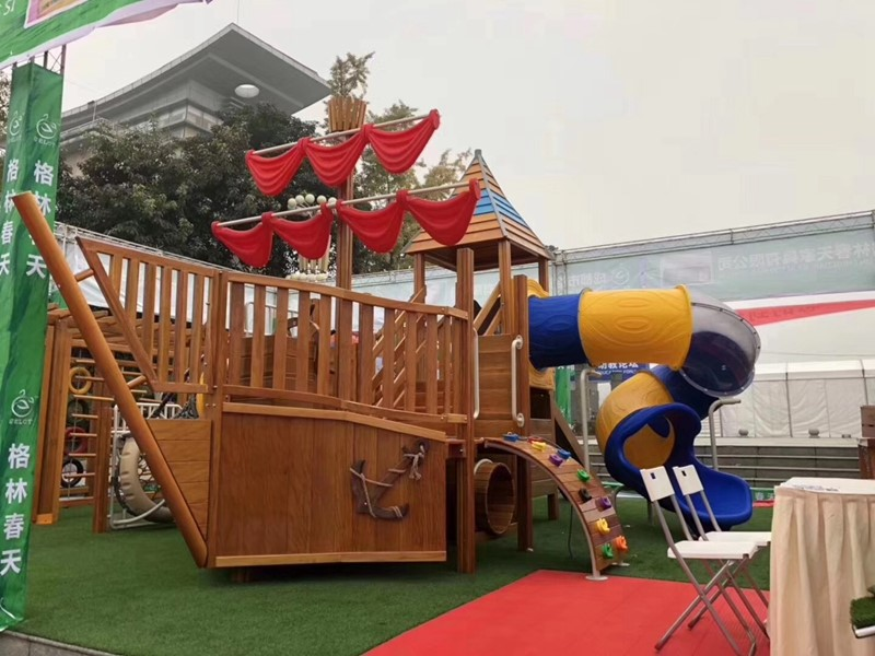 dream garden wooden play structures customized