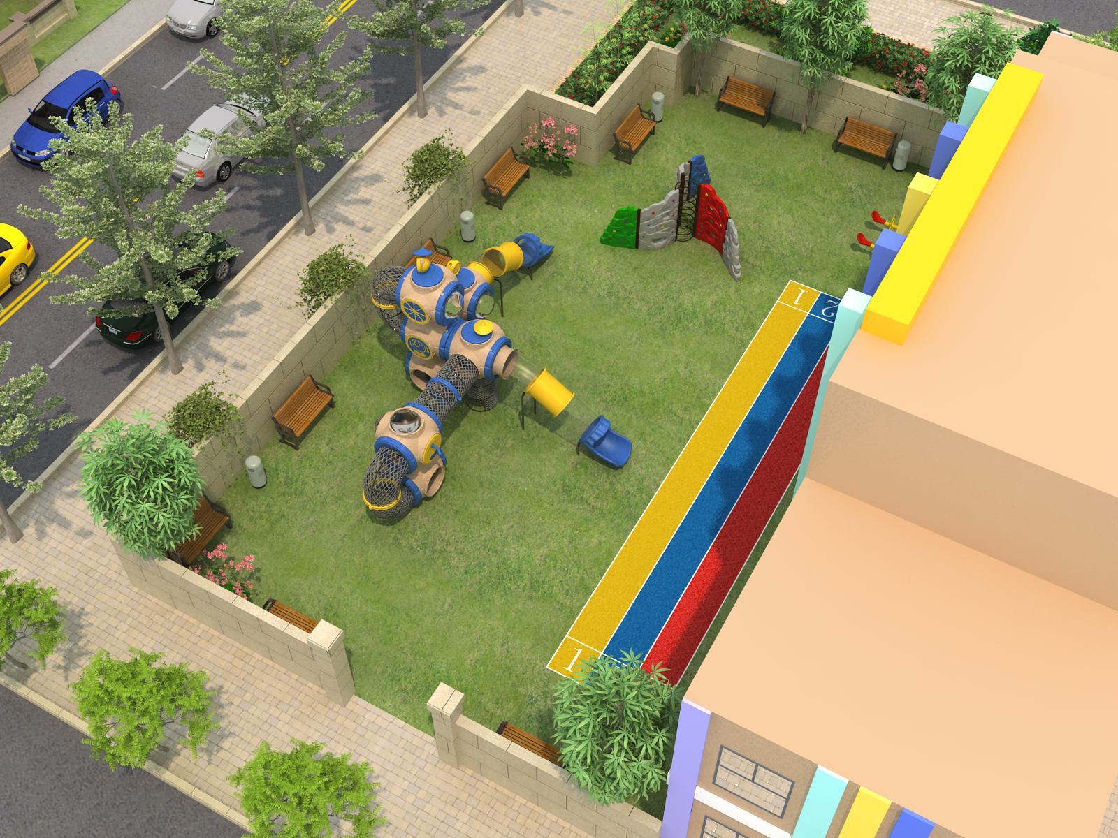 Choosing the Best Outdoor Playground Equipment for Your Home,School,hospital,shopping mall