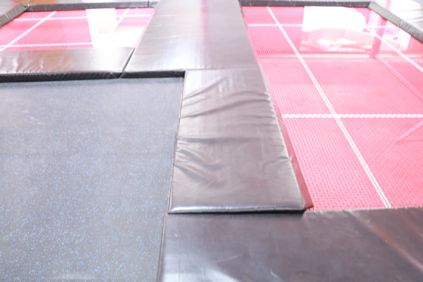 dream garden indoor  trampoline supplier in china