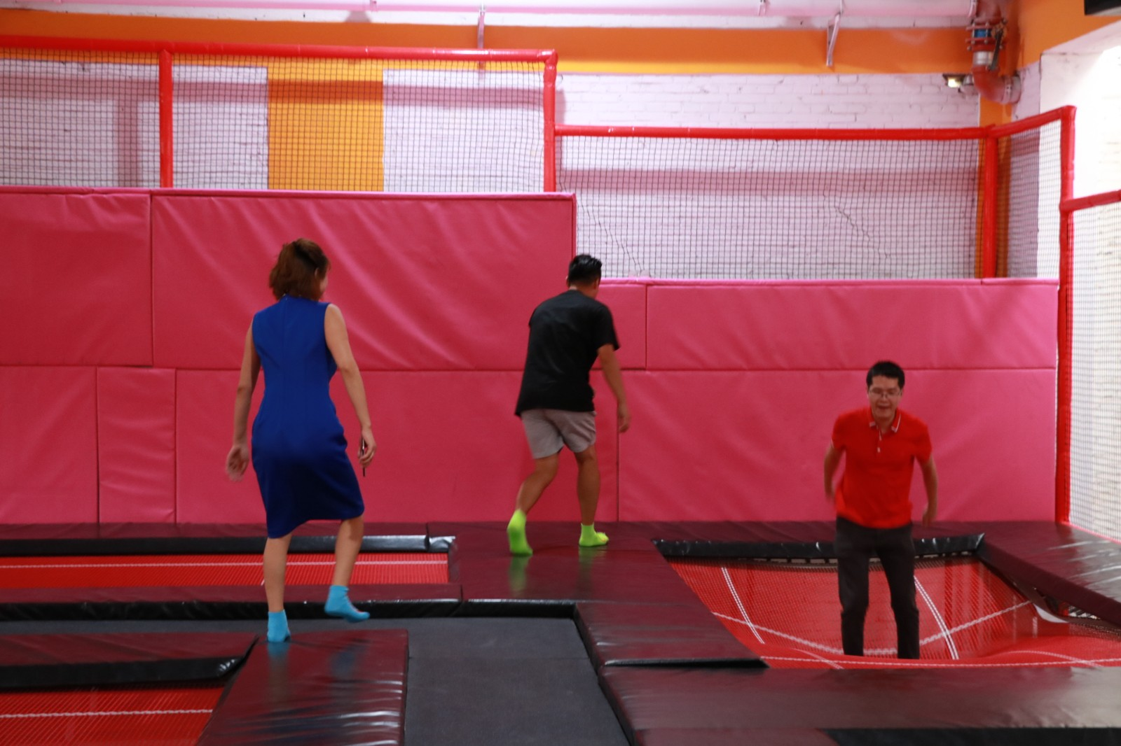 dream garden flip out trampoline park near m