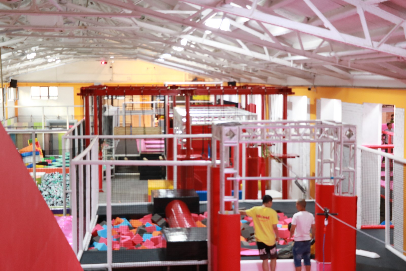 dream garden indoor playground equipment can manufacturer