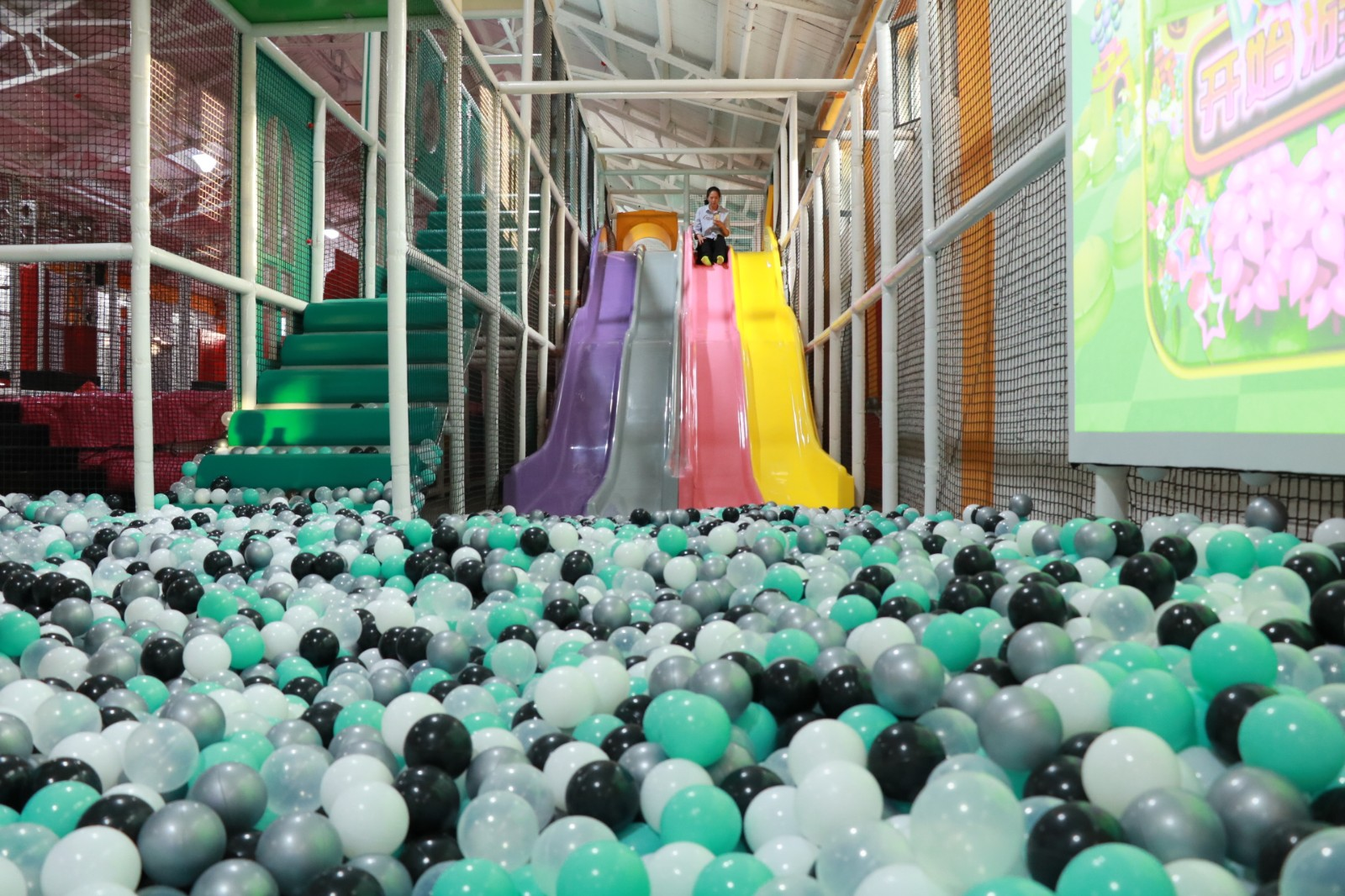 dream garden indoor playground company manufacturer