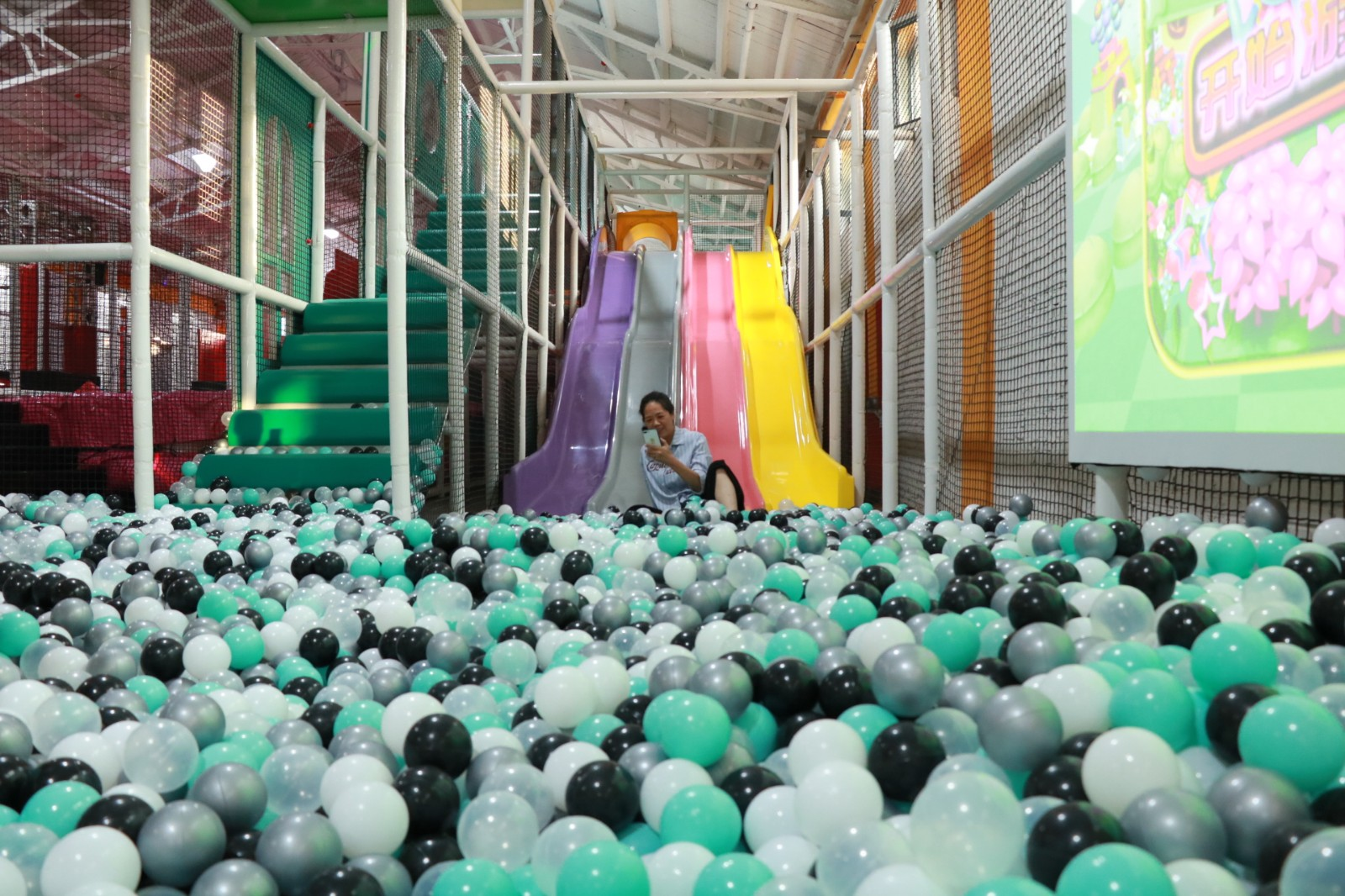 dream garden children's indoor playground equipment manufacturer