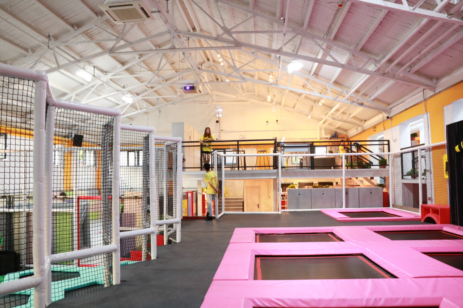 dream garden indoor trampoline lasvegas manufacturer