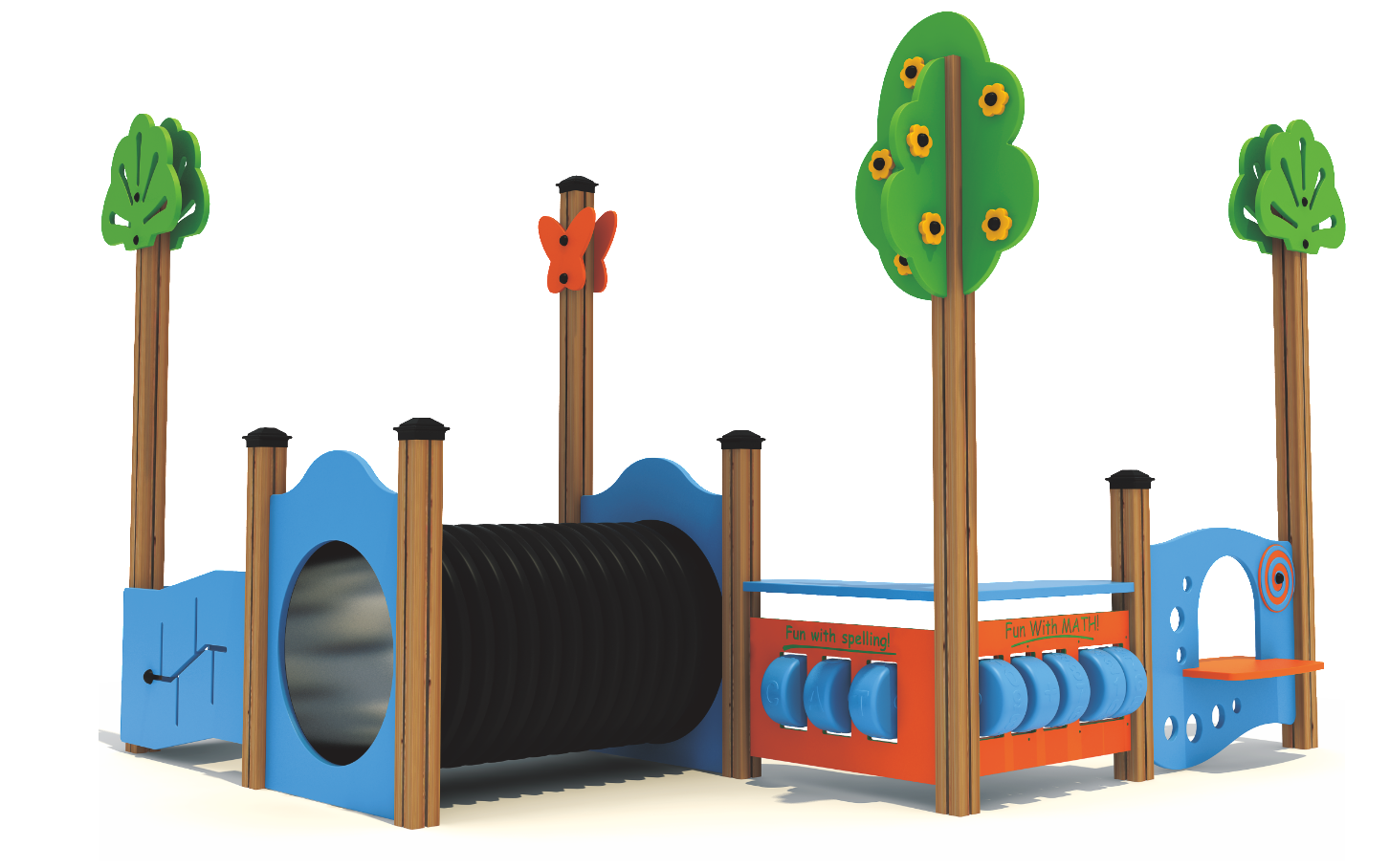 Why Incorporate Commercial Indoor Playground Tunnels?