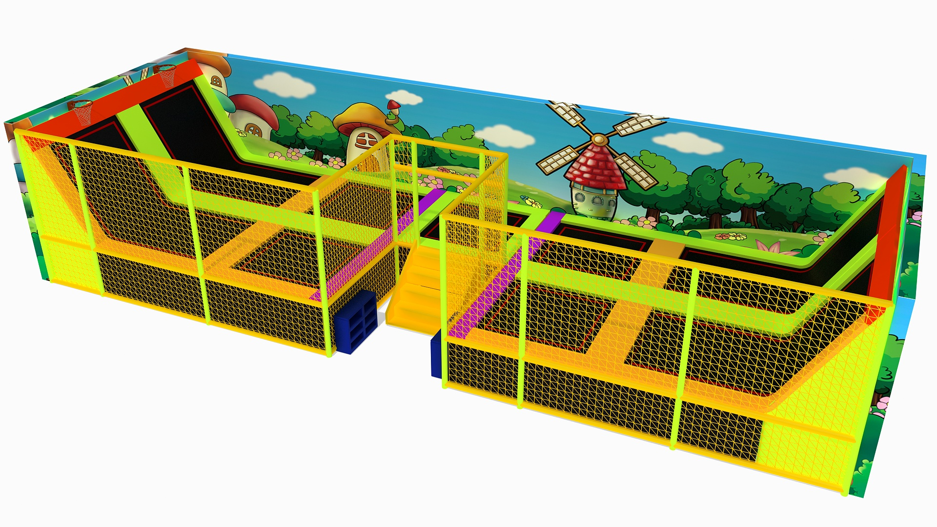The benefits of trampoline for children's growth