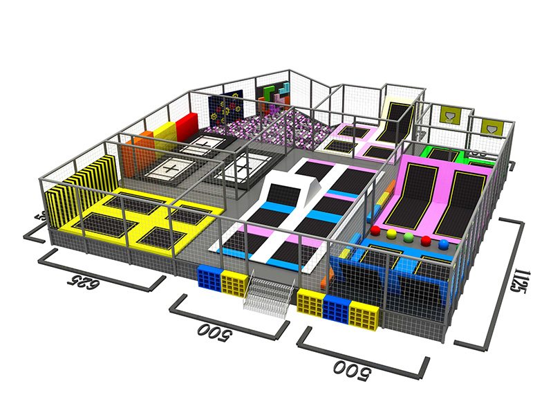the trampoline park