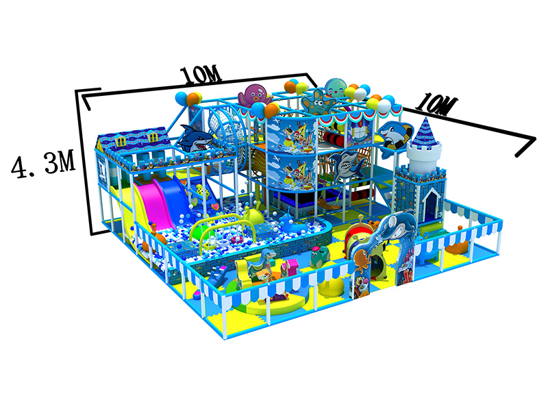 New design daycare indoor play toys with high quality