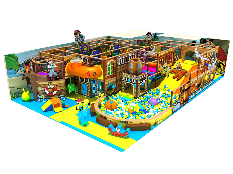 New design daycare indoor playground made in china