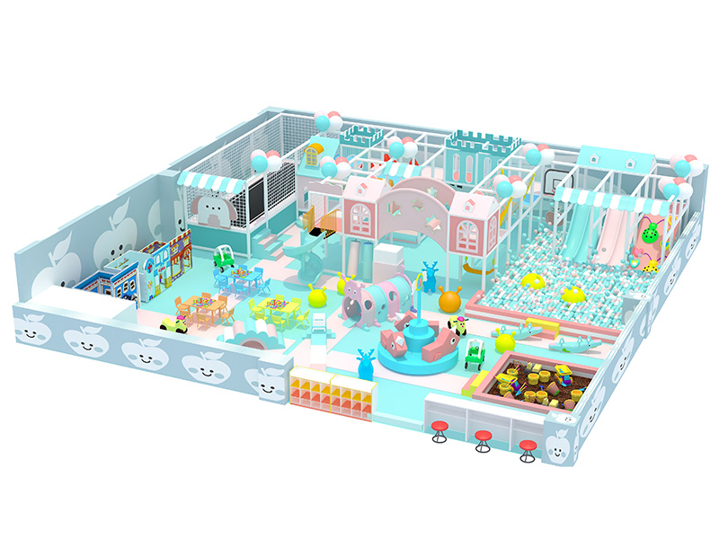 2020 Best daycare indoor playground with good price