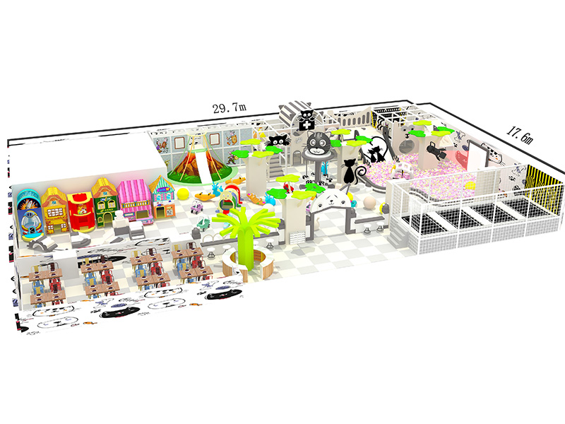commercial indoor playground builder