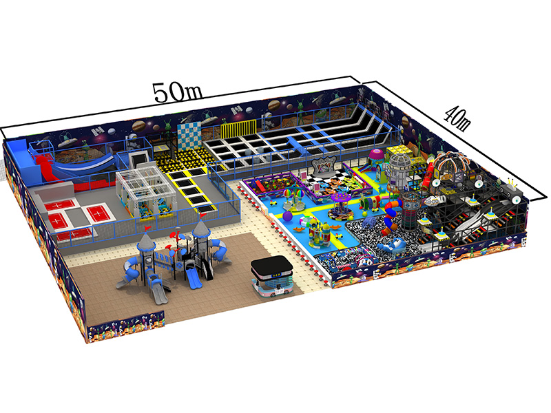 Family Entertainment Center Indoor Playground