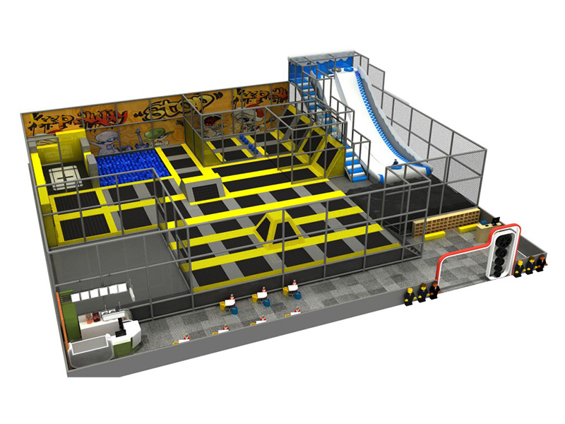 trampoline park equipment manufacturer