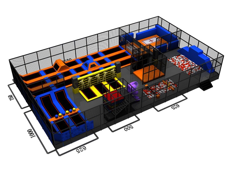 trampoline park for sales