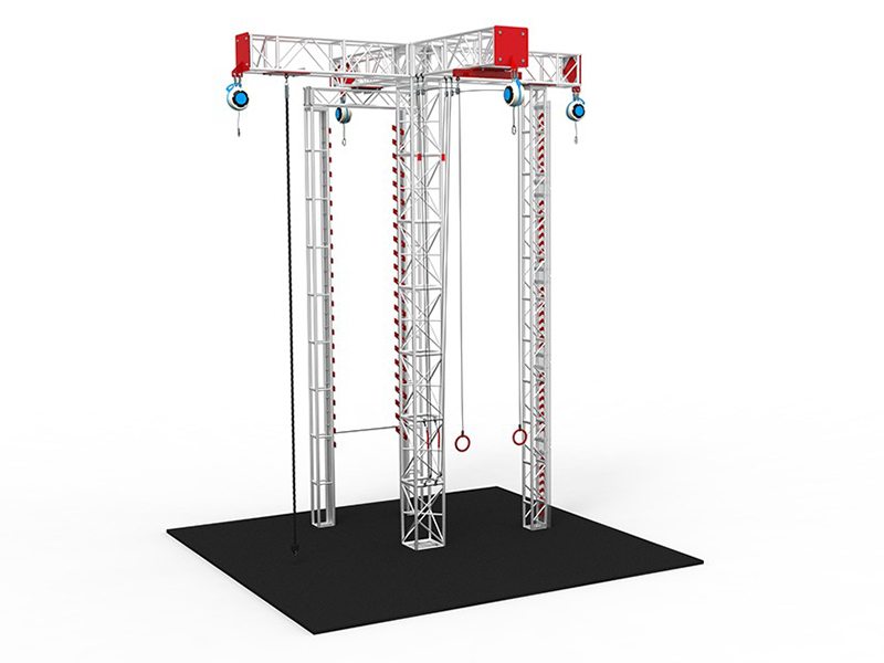 Amusement Park Indoor and Outdoor Adventure Rope Course for sale
