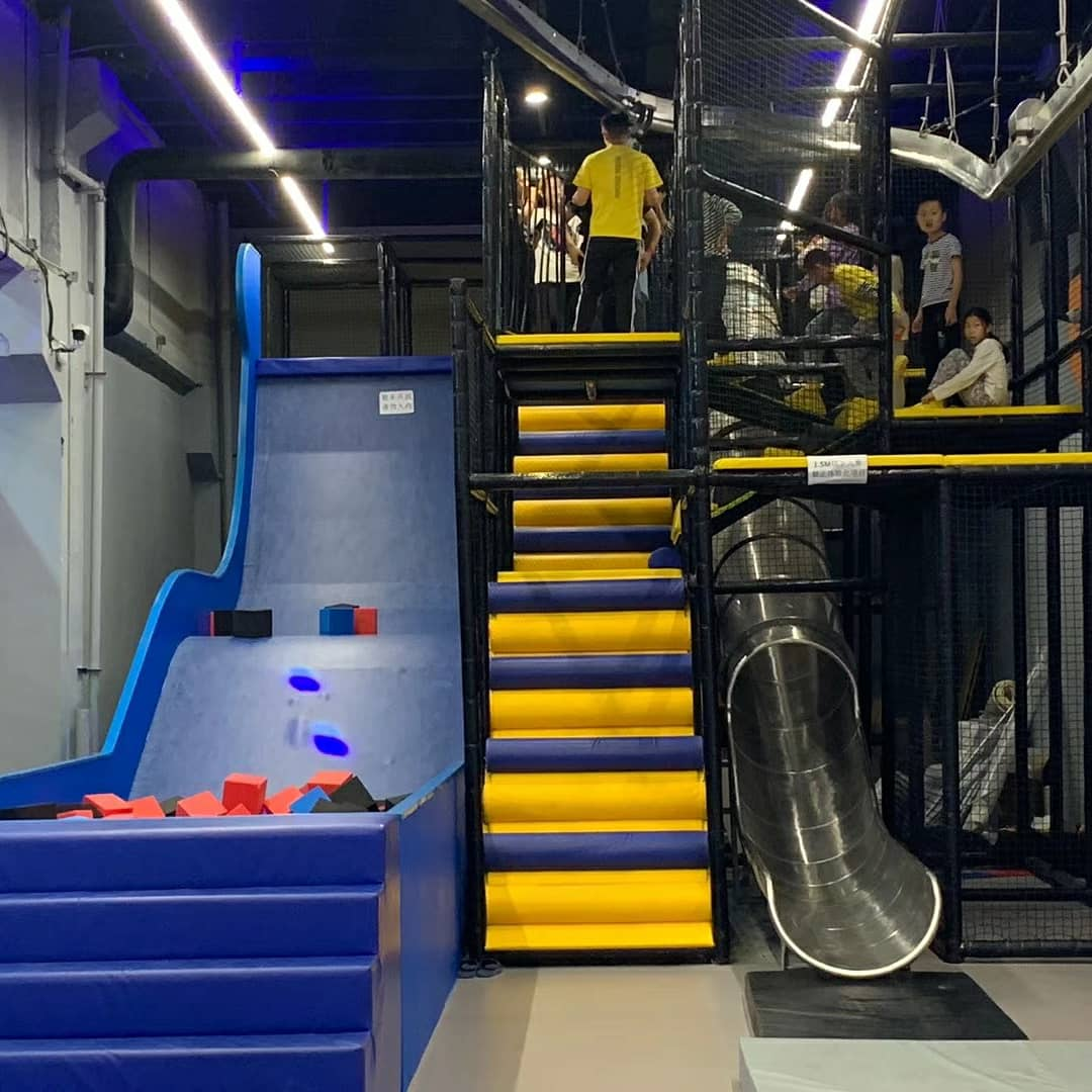 Composition and simple description of indoor play equipment