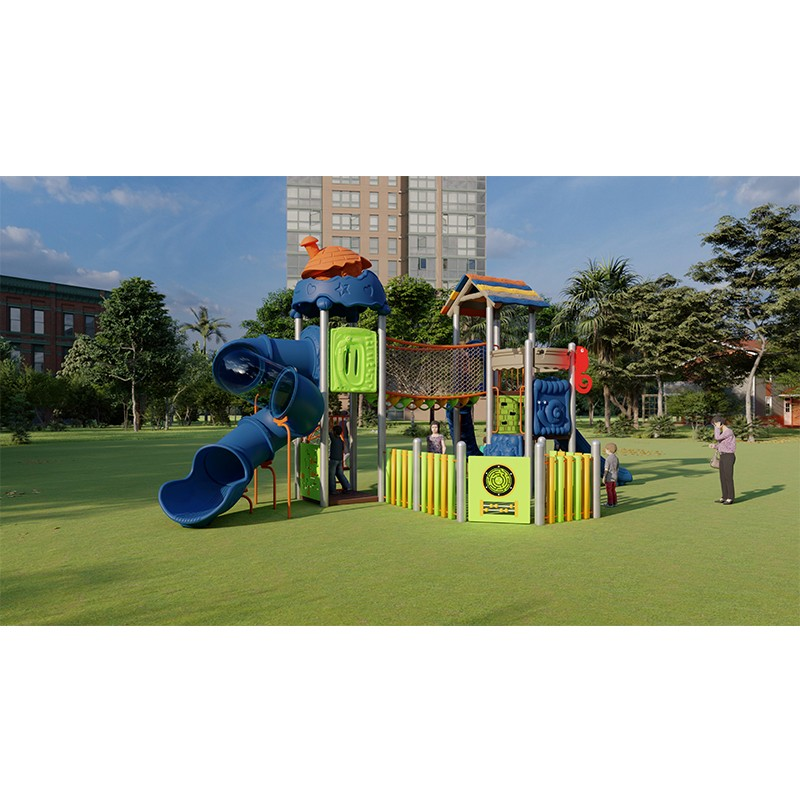 Commercial outdoor play park design for school