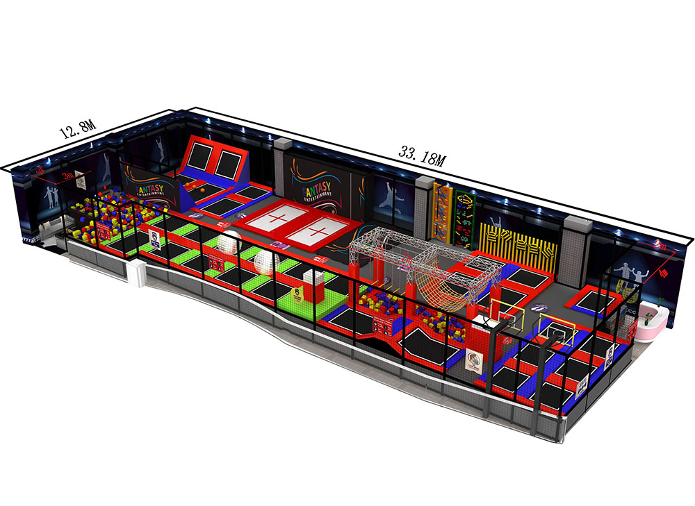 New trampoline park just opened in Hilite mall , Calicut Kerala. India